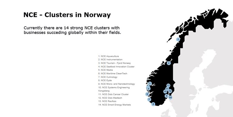 nce clusters