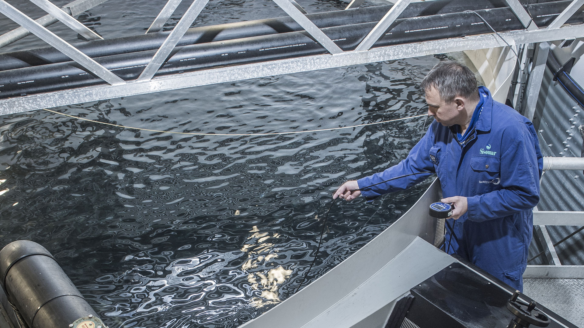 Both Sisomar and AKVA group values the importance of developing technolgical solutions based upon the fish welfare.
